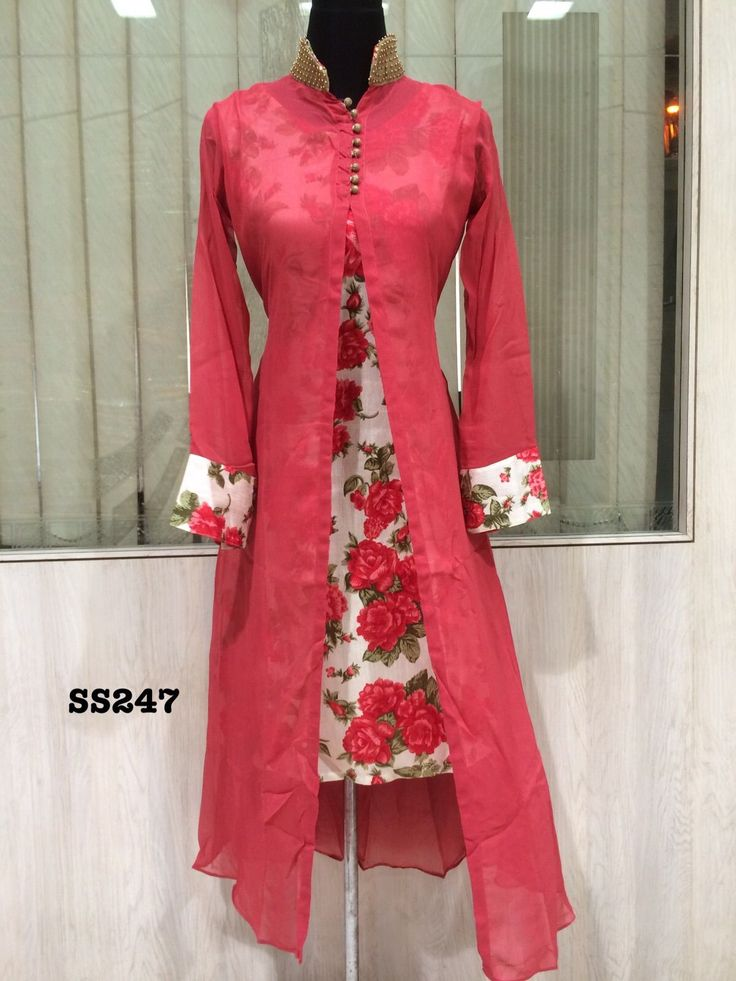 Latest Design Of Assam Type House: Designer Kurtis With Different Cuts