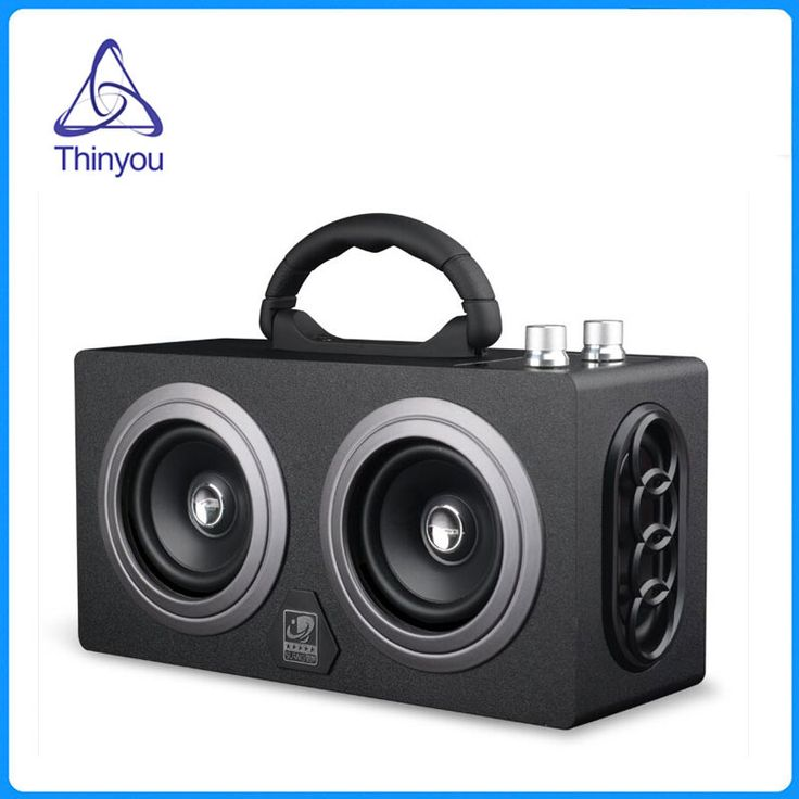 Best Click to Buy uc uc Thinyou Wooden Wireless AUX Bluetooth Box Speaker W