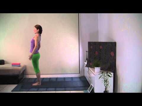 hatha yoga with yin poses for hip and knee flexibility 45