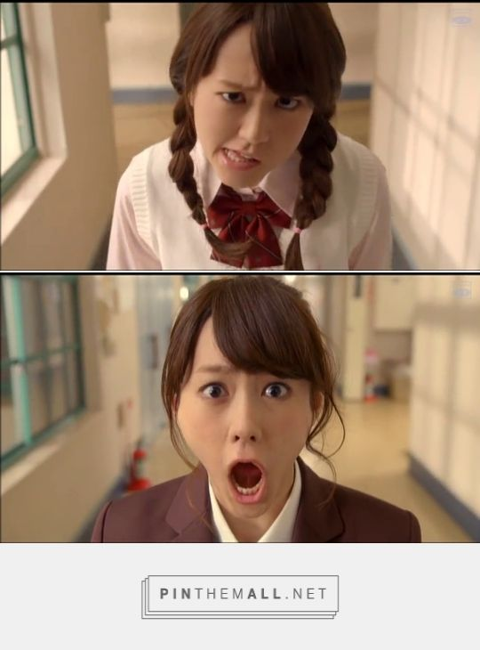 This girl was a riot the whole movie. Such great faces Heroine Shikkaku (2015) #japanese #movie