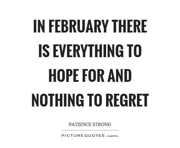 Image result for february quotes