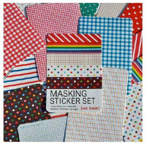Set Masking Sticker vía Tutte Matute