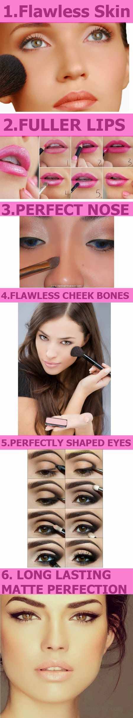 Zoom DIY: 7 Makeup Tricks For a Picture Perfect Clear Face-Do It Yourself Today