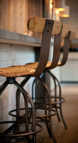 Rustic Wine Counter Stools