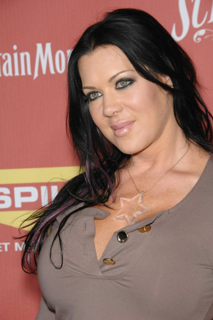 """As a crucial part of WWF's DX, Chyna was one badass chick. After her wrestling career was over her and wrestler Sean """"X-Pac"""" Waltman sold a sextape to Vivid. Chyna released One Night In China, Backdoor to China and she even starred as She Hulk in an Avengers porn parody."""