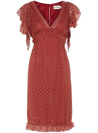 Red vintage floaty dress: Red Vintage, Floaty Dresses, Fashion, Red Dresses, Vintage Dresses, Dorothyperkins Com, Dorothy Perkins, Perkins Red, Vintage Floaty