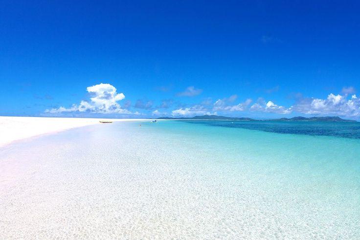 東洋一は沖縄にあった!久米島の青き秘境「ハテの浜」の美しさに驚嘆 2枚目の画像