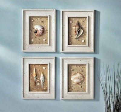 cuadros decorativos para baños pequeños