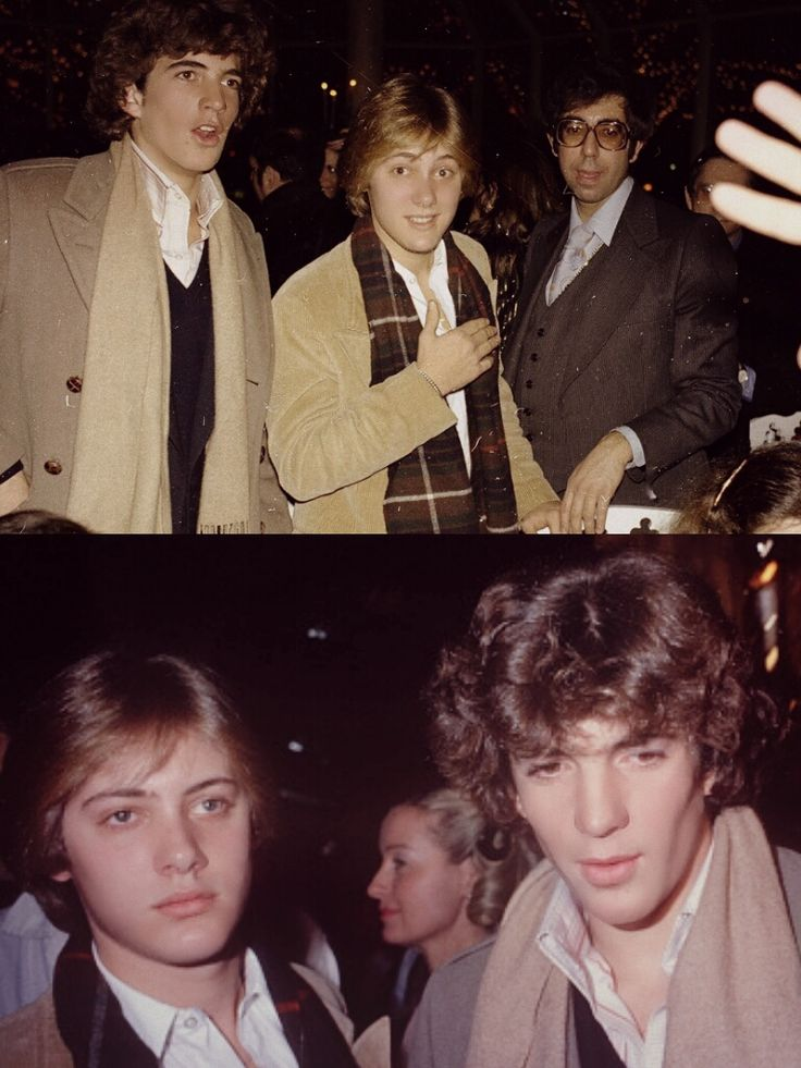 John Kennedy Jr. and James Spader