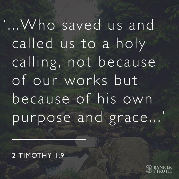 2 Timothy 1:9