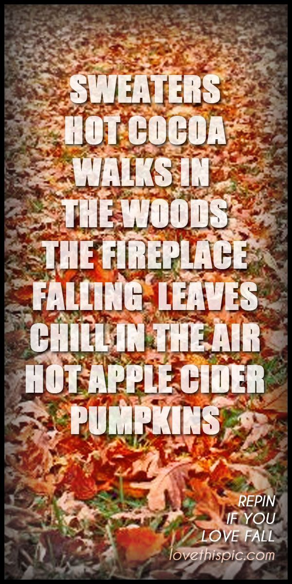 Fall Weather Quotes
