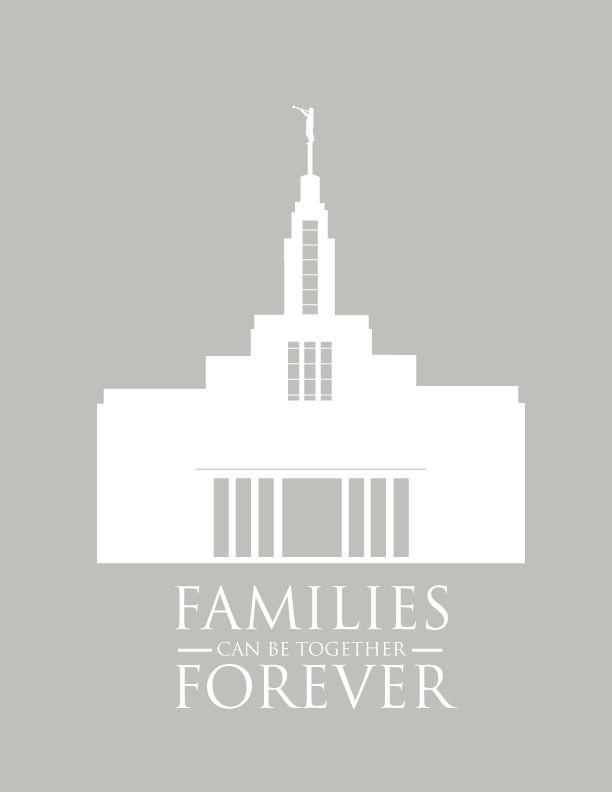 LDS Draper Temple – Free Printable