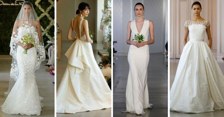 Vestidos de Noiva Oscar De La Renta - http://webfeminina.com/vestidos-de-noiva-oscar-de-la-renta/