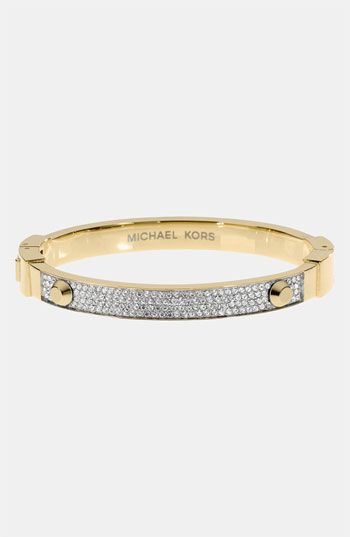 Michael Kors 'Brilliance' Hinged Bangle available at #Nordstrom