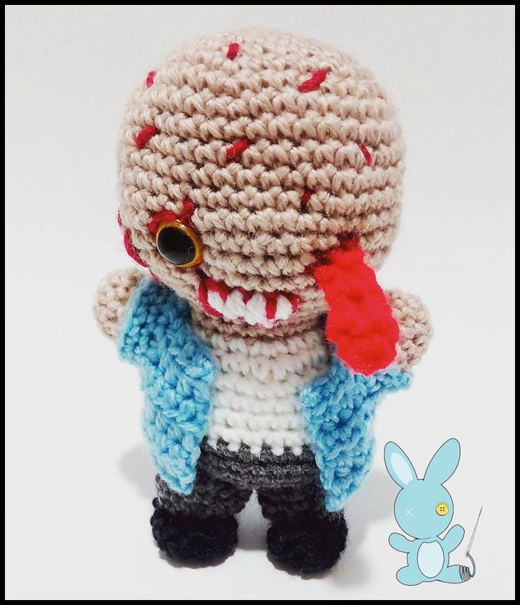 #Zombie #thewalkingdead #amigurumi