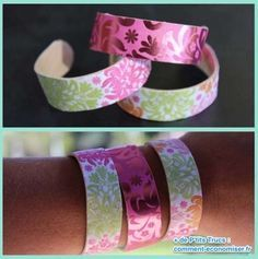 Décorez vos bracelets en bâtonnets comme vous voulez