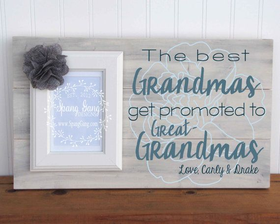Mother's Day gift the best grandmas get by SpangGangDesigns