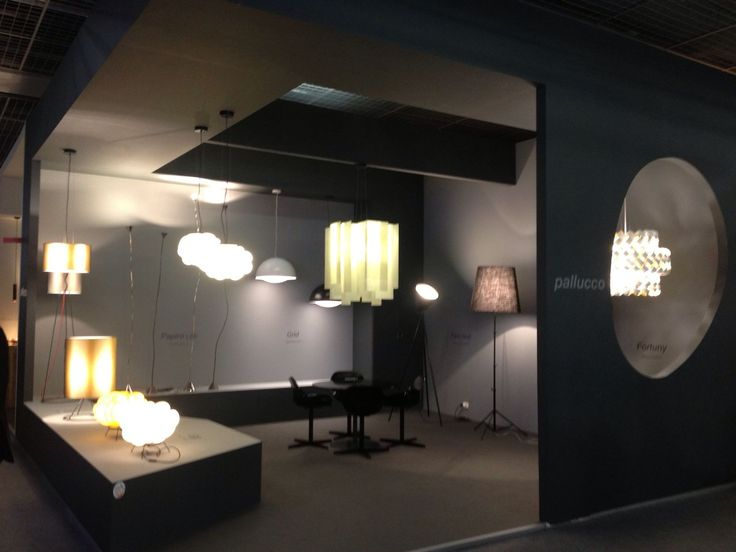 Stand #pallucco at Light+building. HALL 1.1 STAND B40