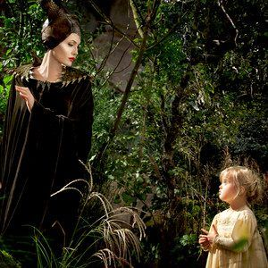 Maleficent, Angelina Jolie, Vivienne Jolie-Pitt Knowing that this is her daughter makes this scene do much cuter...