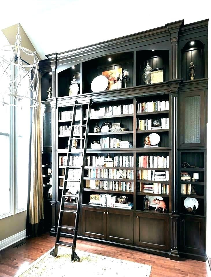 rolling bookcase rolling bookshelves rolling bookcase ladder rh pinterest com rolling ladder for bookshelves Rolling Stainless Steel and Glass Enclosed Bookcase