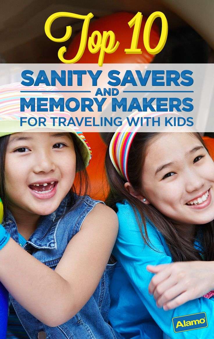 When you rent a car, the journey doesn't stop there! So here's Alamo's list of top sanity savers and memory makers for traveling kids. These tips will help keep your family vacation stress-free and kid-friendly even before you reach your destination.
