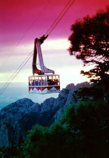 Sandia Peak Tram is a must when visiting Albuquerque, you can eat at both ends or go up to hike in the summer or ski in the winter.