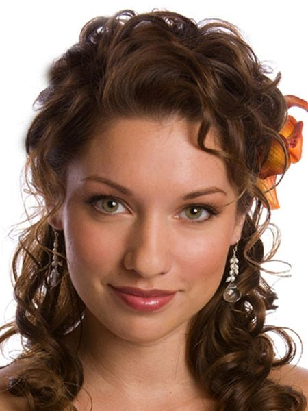 hairstyles down for wedding. bridal hairstyles for medium length hair   half up down wedding hairstyle