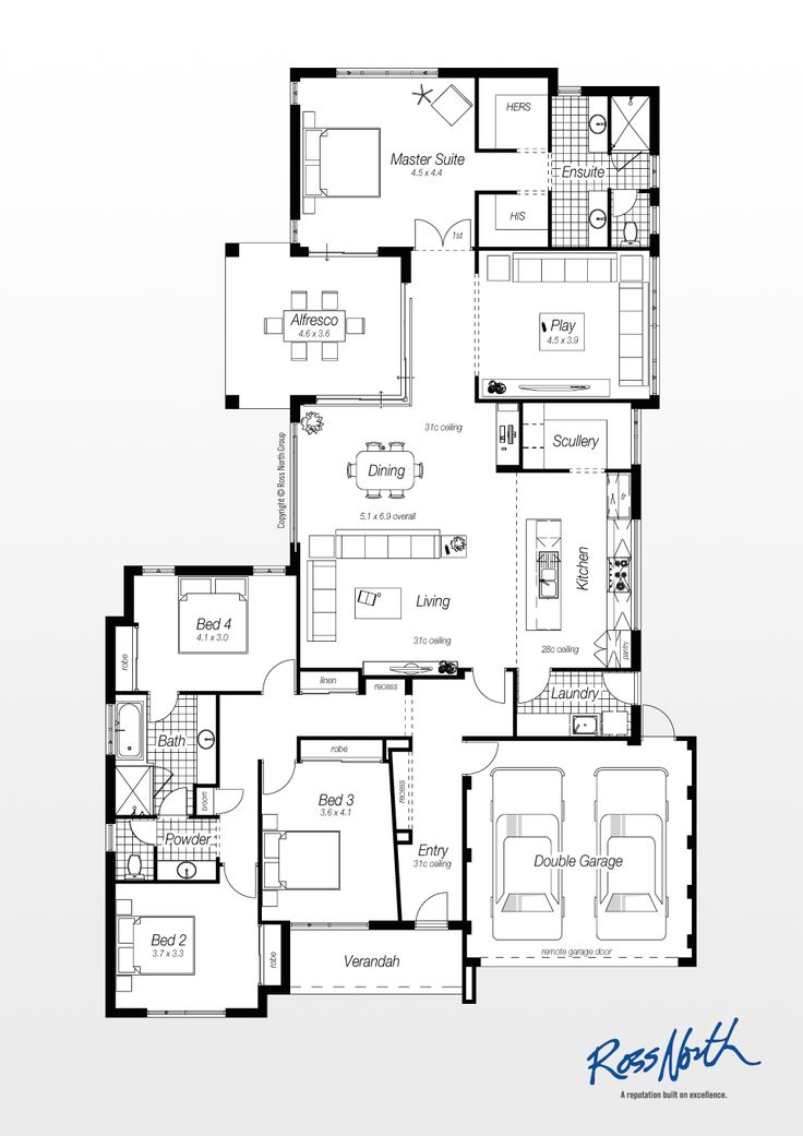 447 best images about floor plans on pinterest monster for Ross north home designs