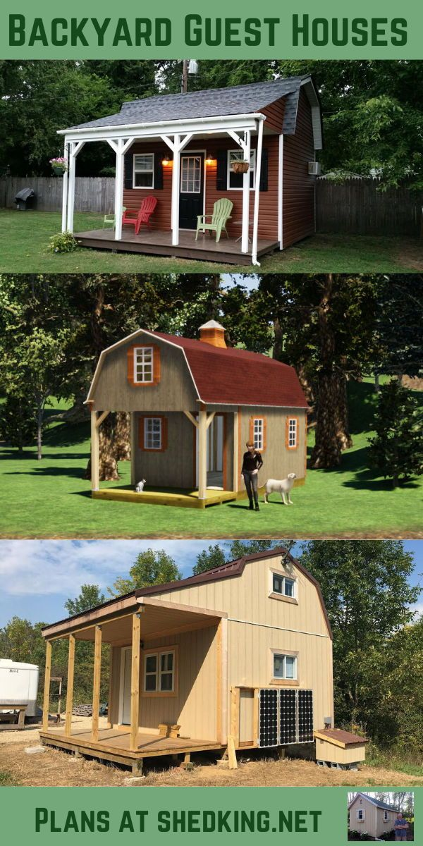 Plans for Building Shed Homes in 2020 | Shed homes ...