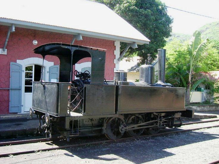 ancienne gare de la Grande chaloupe, Réunion