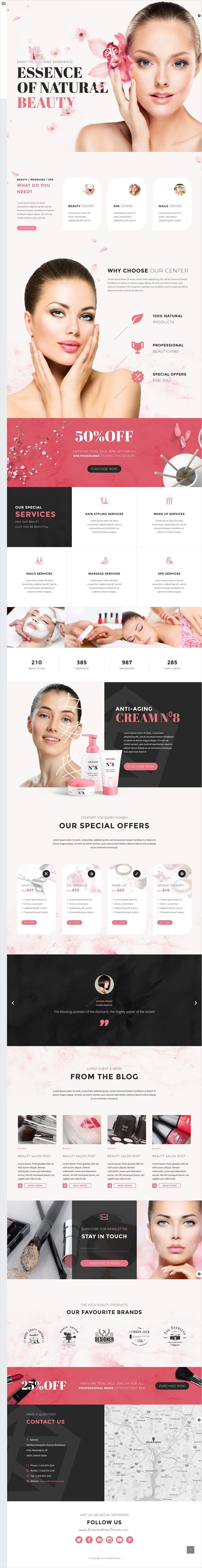TheGem is a versatile #WordPress theme with modern creative design for #spa #beauty #salon website with 40+ stunning homepage layouts download now➩ https://themeforest.net/item/thegem-creative-multipurpose-wordpress-theme/16061685?ref=Datasata