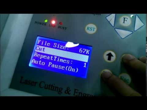 CO2 Laser Cutting KT1062 by Harrier