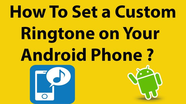 how to choose custom ringtone in android