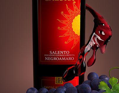 "Check out new work on my @Behance portfolio: ""Wine series: Calura"" http://be.net/gallery/33444667/Wine-series-Calura"