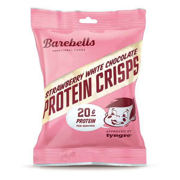 Barebells Protein Hvit Sjokolade-Crisp 77g - Tights.no