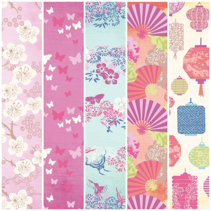 Think what you could make with these Japanese Dream free digital papers!