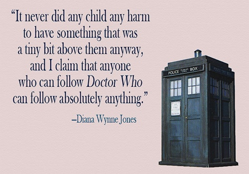 Dianna Wynne Jones on Doctor Who.