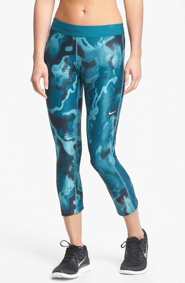 Wave Print running tights. A new workout outfit can go a long way in upping the motivation ...