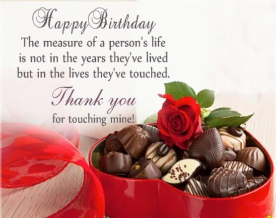 Birthday Wishes Messages Examples