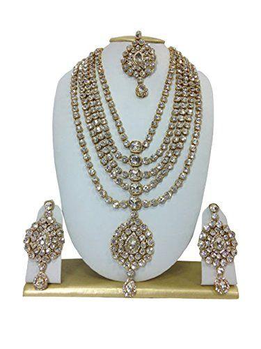 Elegant Indian Bollywood Inspired Madhuri Dixit Gold Plat... https://www.amazon.com/dp/B01MUG0MKU/ref=cm_sw_r_pi_dp_x_tbwbAb2QN6DRV