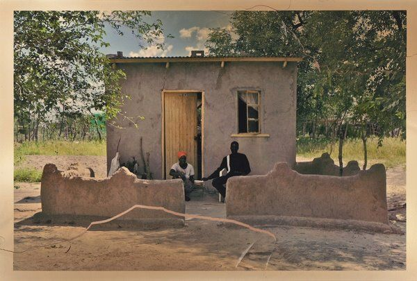 In the Kalahari by Anton Crone
