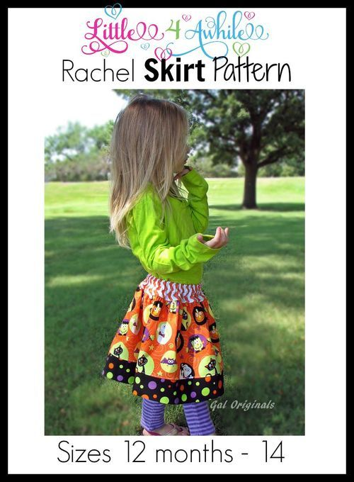This PDF sewing pattern is the easy and fast. It is a great skirt for casual to dressy! This skirt can be made with wovens or knits. This girls PDF sewing pattern comes in sizes 12 months - 14. PDF Sewing pattern includes measurements, fabric requirements, cutting chart, pattern pieces and step-by-step instructions. Each step has a color photo to help out my visual friends. It is like sewing with a friend that is right there with you. This pattern will be downloadable immediately after c...