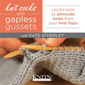 gapless gussets - these tips from Knitting Daily should help me with my sock knitting!!!!!