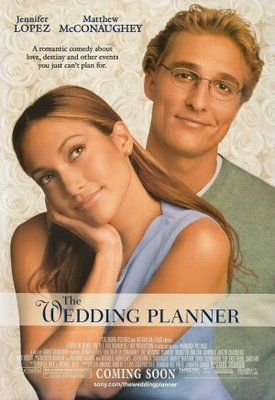 The Wedding Planner movie poster (2001)