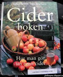 Om hur man gör cider, allt från val av äpplen till pressning och mustning och ciderbrygd. Medförfattare Stefan Dehlén.  Wahlström & Widstrand 1997