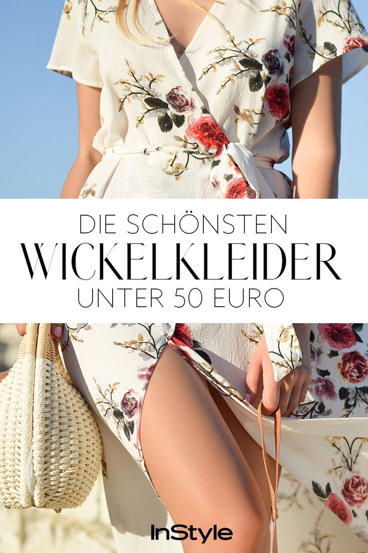 Günstige Wickelkleider: die schönsten Kleider unter 20