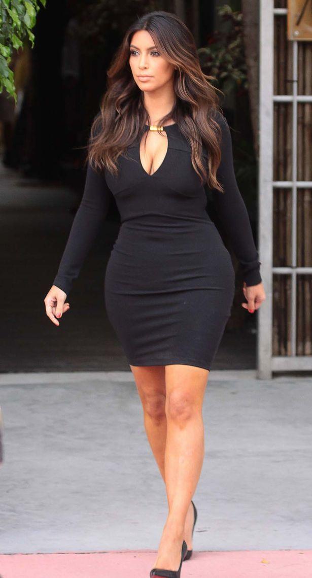 Kim Kardashian--balayage hair
