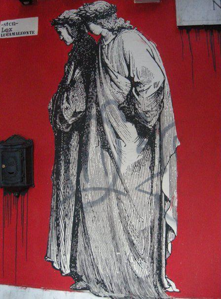Street art, Rzym, fot. A. Stelmach. #mural #streetart #Rome #rzym