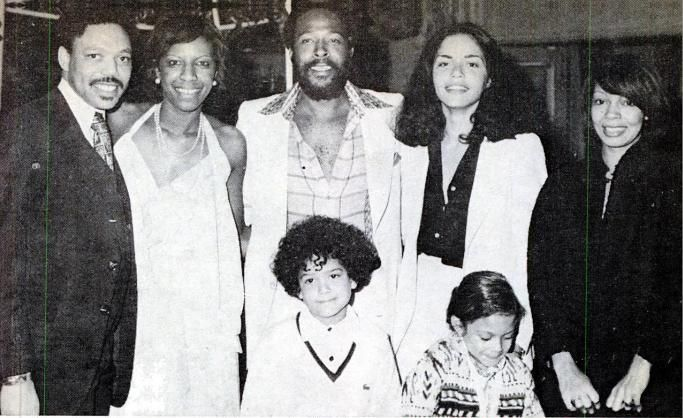 Marvin & Janis at Natalie Cole and Marvin Yancy's wedding reception in 1976, Natalie's sister Carole is to Janis' right. Rest in peace again, Ms. Natalie Cole.