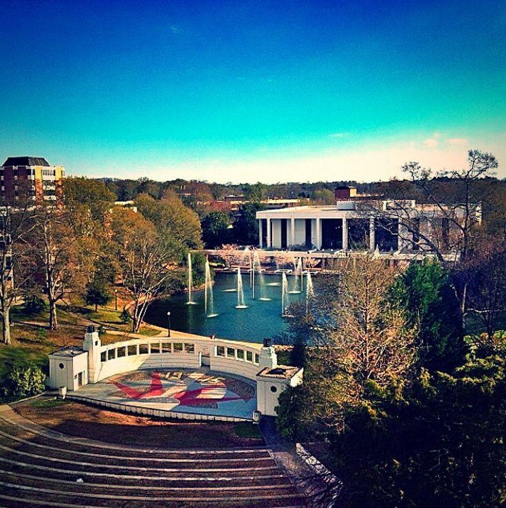amphitheater at Clemson University